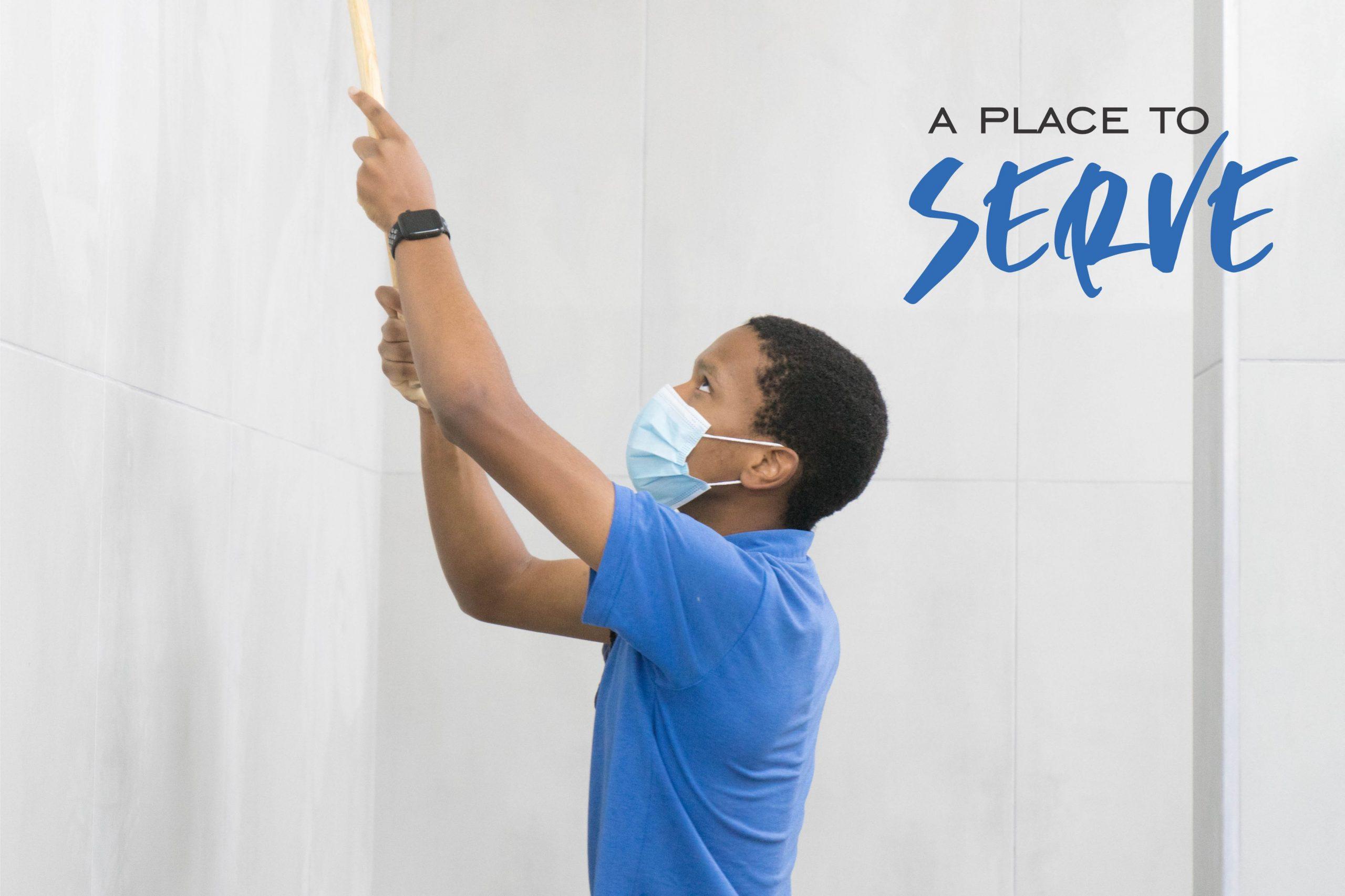 Serve place